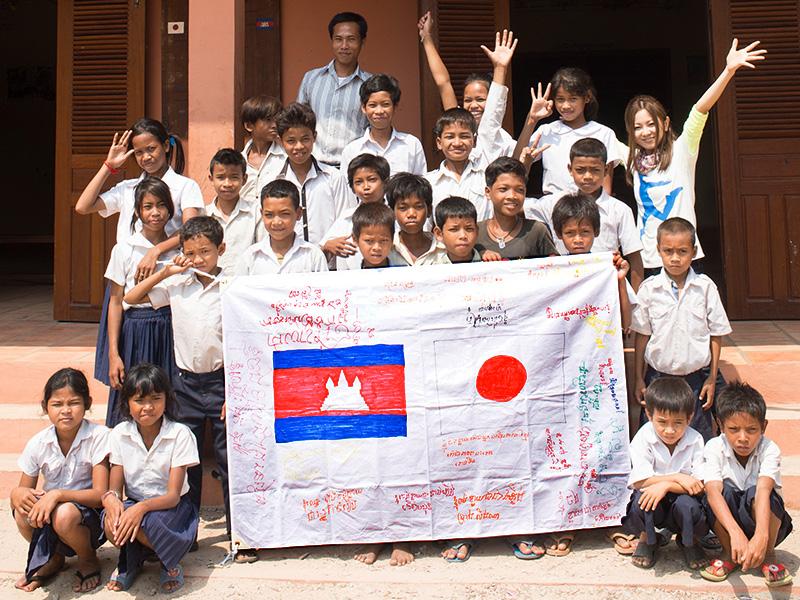[倉木麻衣 みんなでカンボジアに寺子屋を建てよう!プロジェクト]の画像