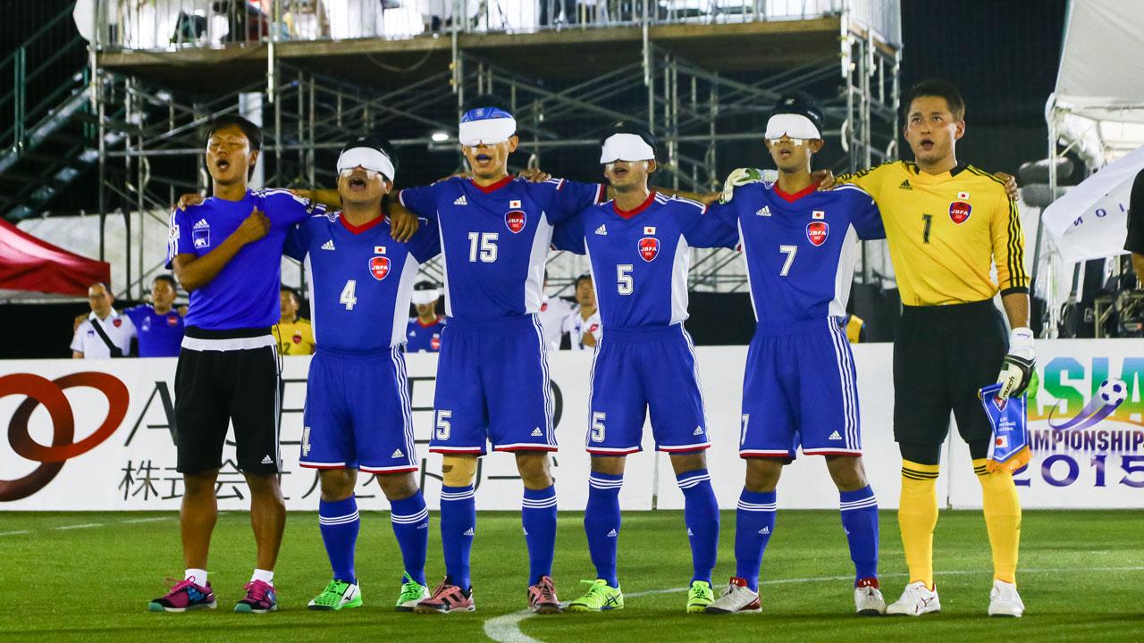 [ブラインドサッカー日本代表を応援! メダル獲得を目指して]の画像