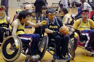 [障害者スポーツを支援]の画像