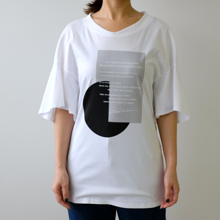 Made in Japan & Cotton 100%Tシャツ