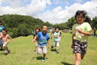 [福島県に住む子どもたちにのびのびと外遊びできる環境を。]の画像