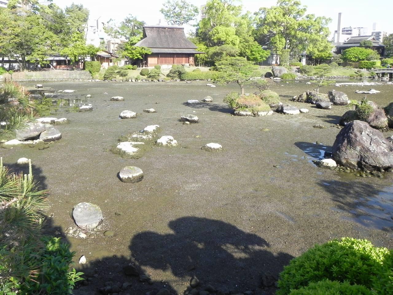 [熊本地震 水前寺成趣園 復興緊急支援募金]の画像