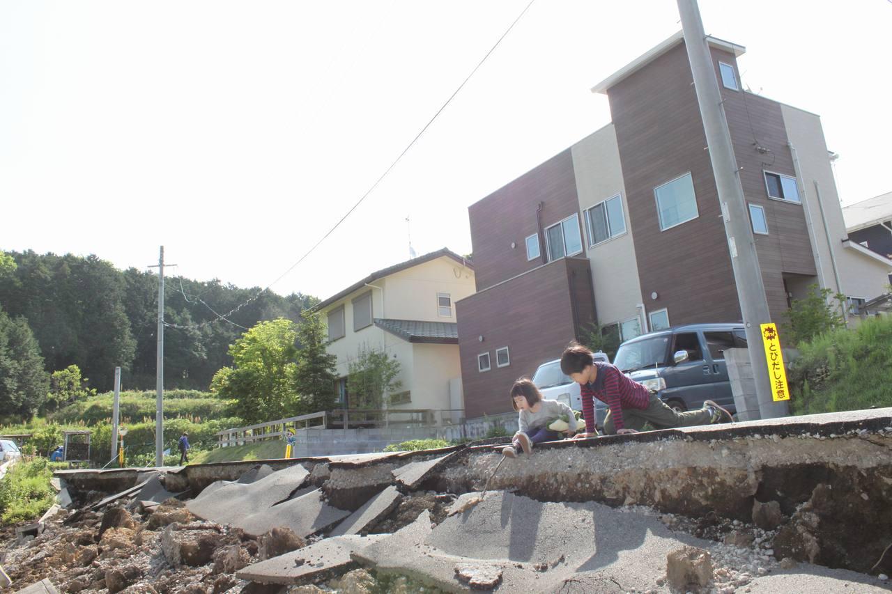 [西原村内私道の復旧と生産者・農家の方々に支援を!]の画像