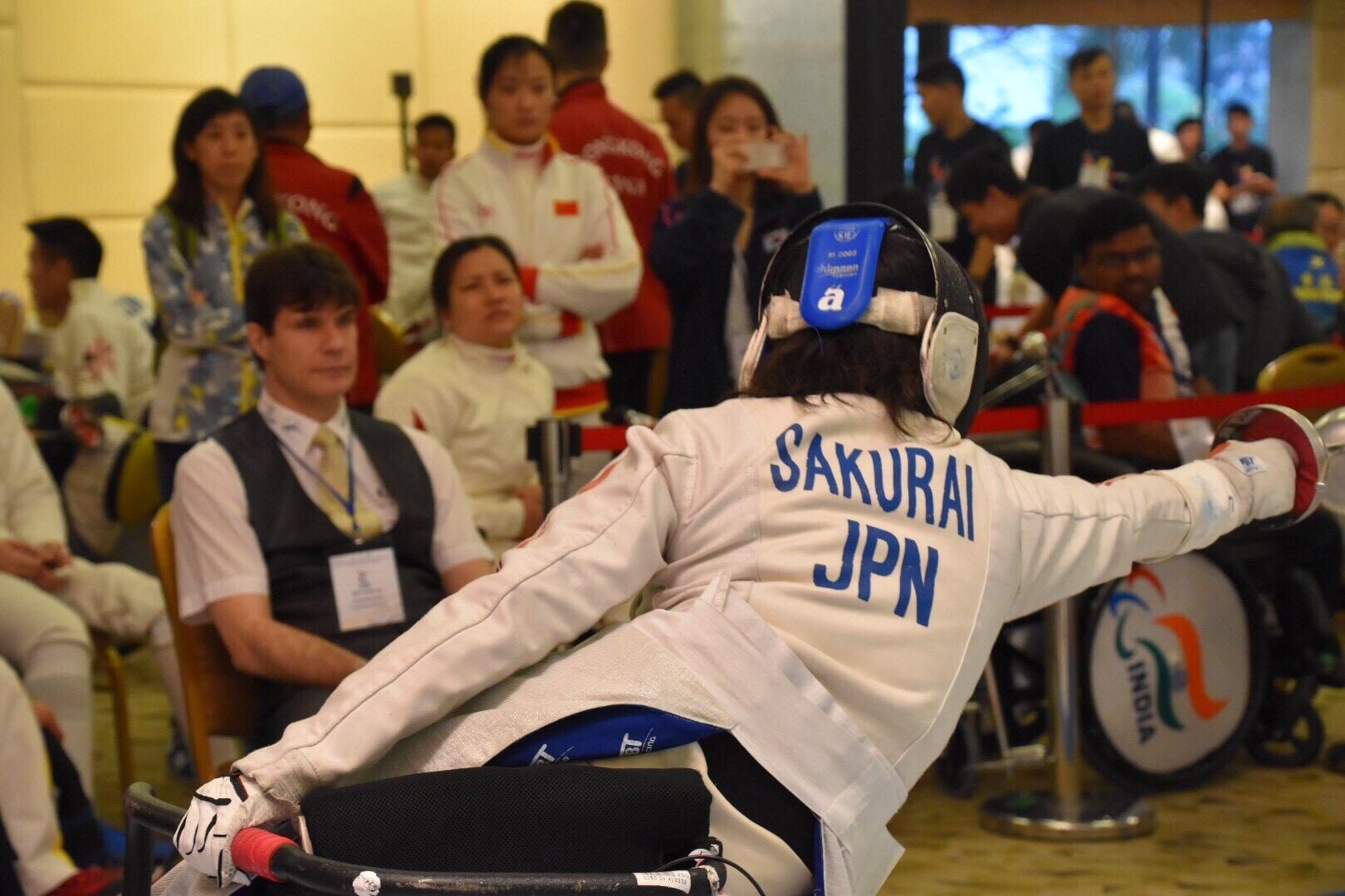 [車いすフェンシング、日本から世界へ!日本発メダリストを育成。]の画像