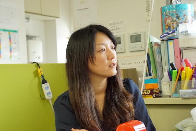 YSCグローバル・スクール事業責任者の田中宝紀さん。