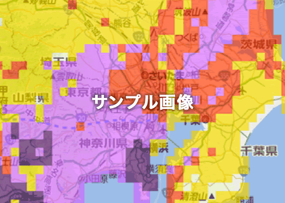 地図上の表示