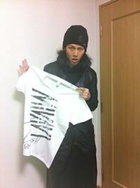 雅 -MIYAVI- サイン入りツアーTシャツ