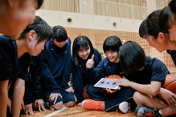 東松島市鳴瀬未来中学校 バスケットボール部