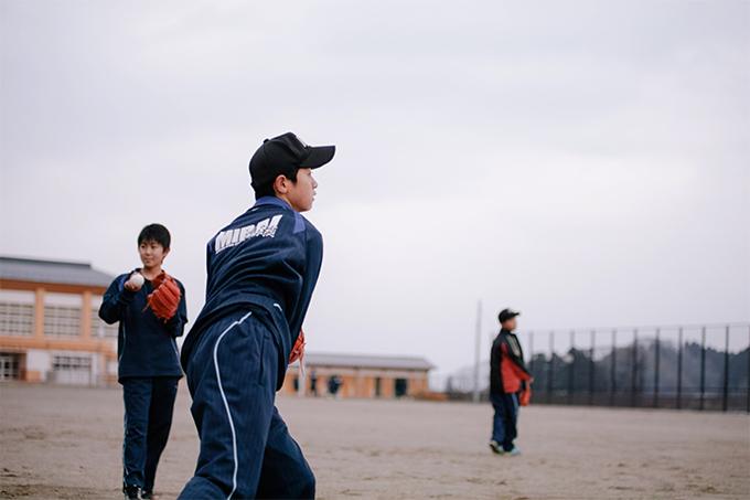 東松島市立鳴瀬未来中学校の野球部