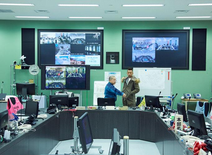 緊急時対策本部の内部1