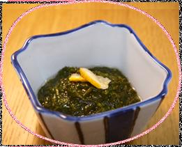 アカモクの酢の物 イメージ