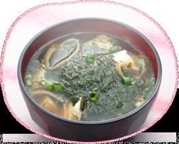 アカモクのお味噌汁 イメージ