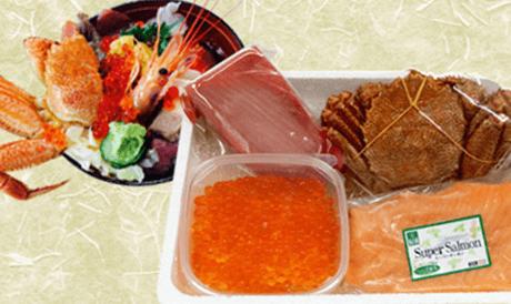 自宅で女川丼セット