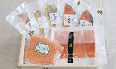女川産銀鮭セット