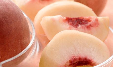 福島産 菱沼さんの「さくら白桃」 秀品