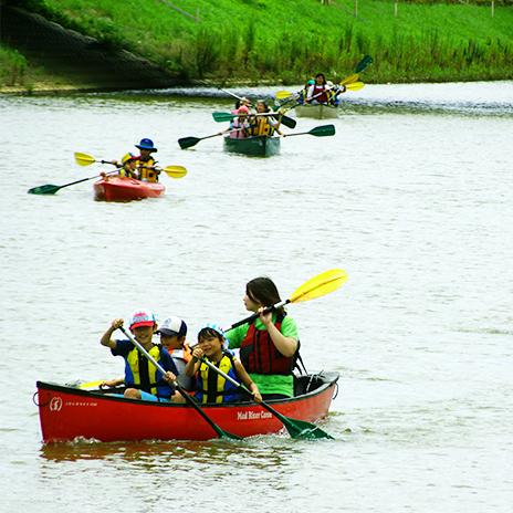 初心者でもOK!石巻の川でカヌーをしよう!