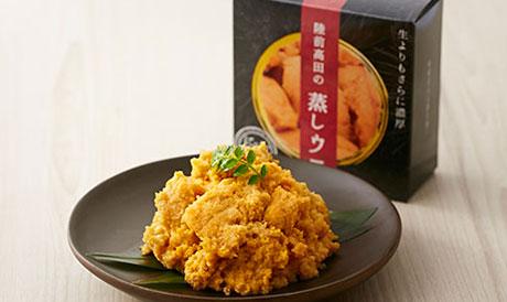 陸前高田 蒸しウニ缶詰の写真