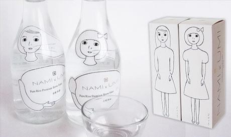 気仙沼 金紋両國 NAMIとUMI 低アルコール純米吟醸酒の写真