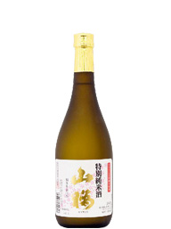 福島県笹の川 特別純米酒「山桜」