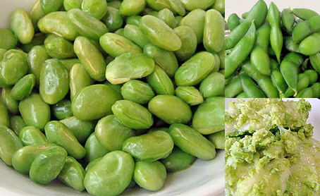 冷凍むき枝豆(秘伝豆)の写真