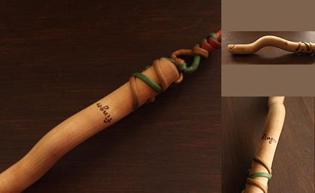 プラム工芸 指圧棒の写真