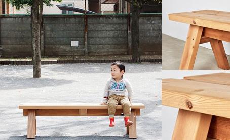ベンチ(ISHINOMAKI BENCH)の写真
