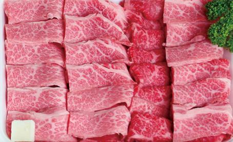 福島牛カルビ 三角バラ(600g)の写真