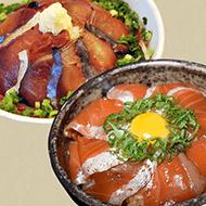 本格海鮮丼(金華さば・金華銀鮭)各3食 計6食の写真