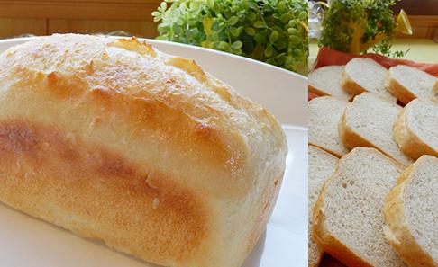 国産小麦 究極のザクザク食感の天然酵母フランス 食パンの写真