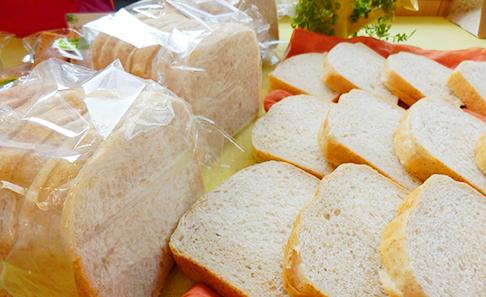 無塩 全粒粉 食パン 3斤スライスセットの写真
