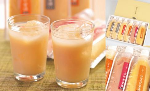 麹屋さんの甘酒5種セットの写真