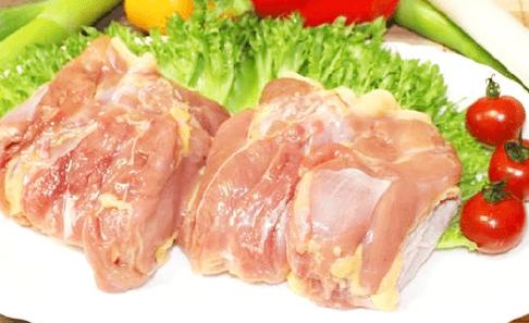 川俣シャモ生肉(モモ冷凍)の写真