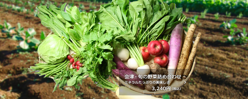 会津・旬の野菜詰め合わせ