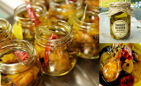 【三陸・気仙沼】燻製牡蠣のオリーブオイル漬け(140g)