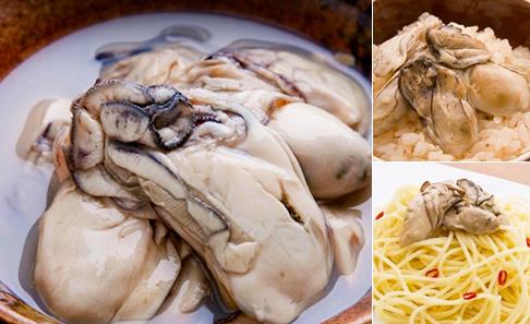 牡蠣の潮煮の写真