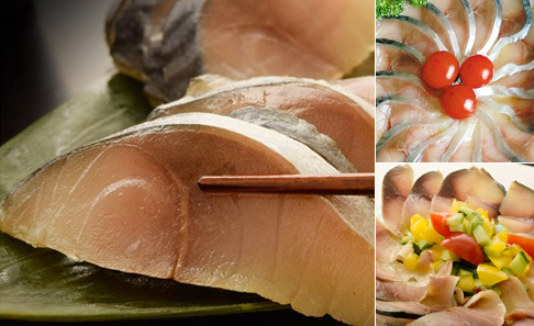 石巻でしか水揚げされない金華サバの生ハムお試し3枚セット(1枚約100g)の写真