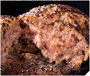 食品コンクール優秀賞ハンバーグを贅沢食べ比べの写真