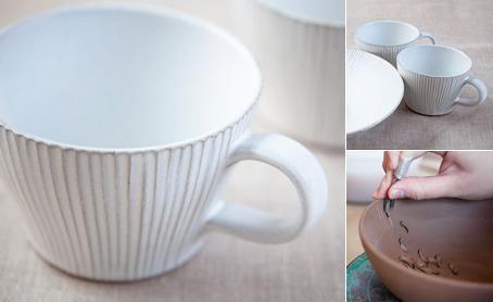 白しのぎ マグカップの写真