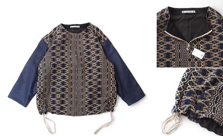 ブルソン 青×紺袖