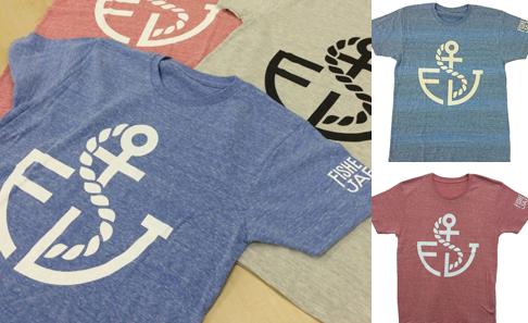フィッシャーマン・ジャパン オリジナルTシャツの写真