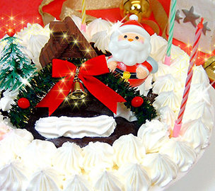 ★Xmas★デコレーションアイスケーキ