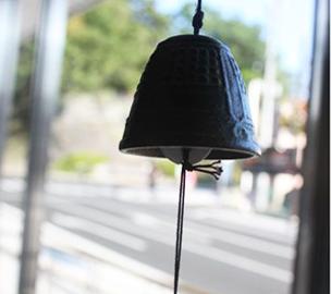 南部鉄器の風鈴 釣鐘