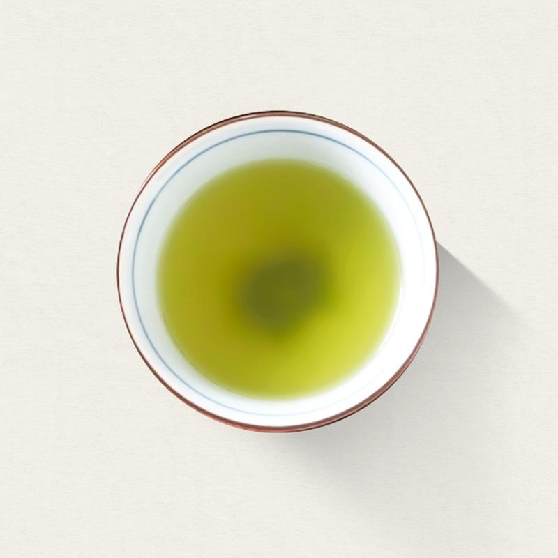 有機初摘一番煎茶の写真