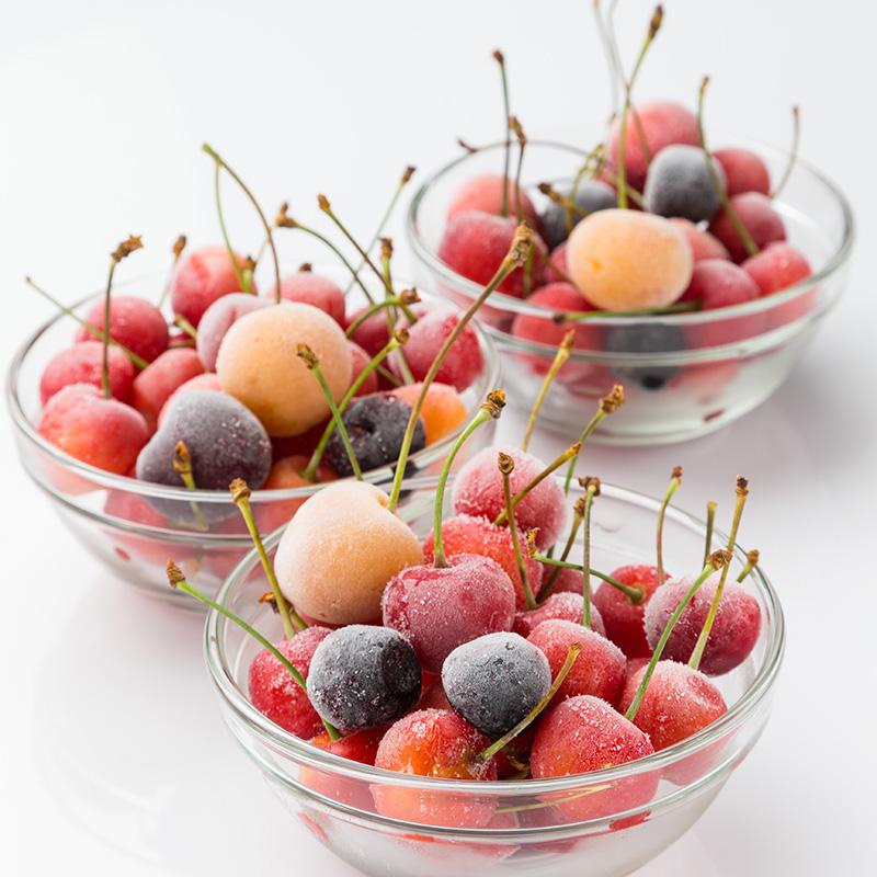 フローズン桜桃の写真