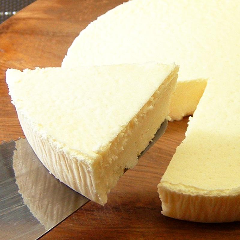 濃厚チーズケーキの写真