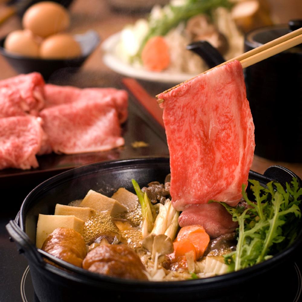 門崎熟成肉すき焼きの写真