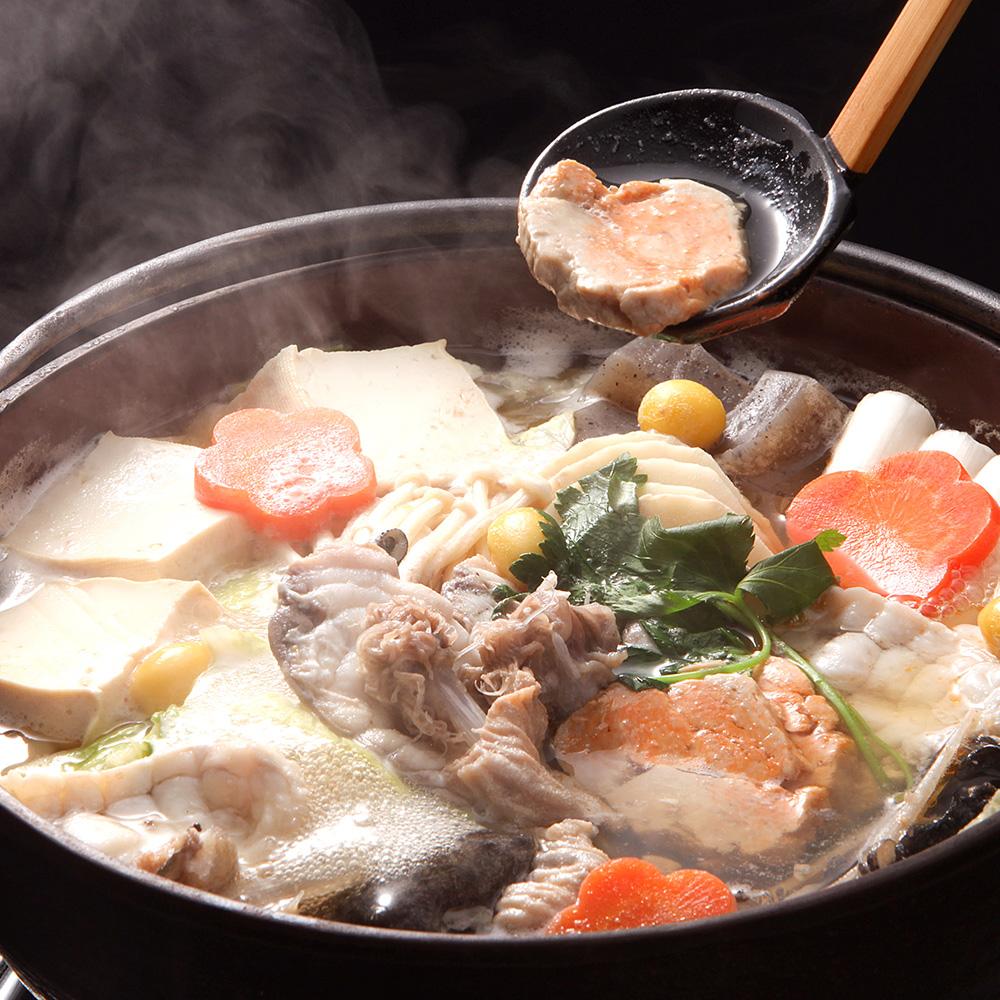 水戸のアンコウ鍋の写真