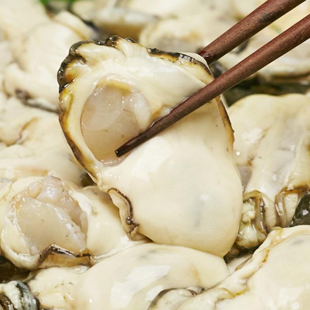 プレミアム生牡蠣の写真