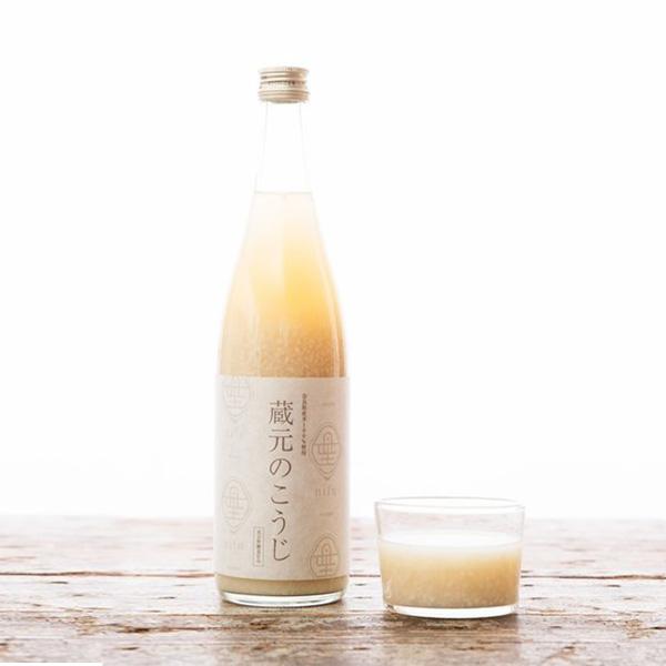米麹の甘酒の写真