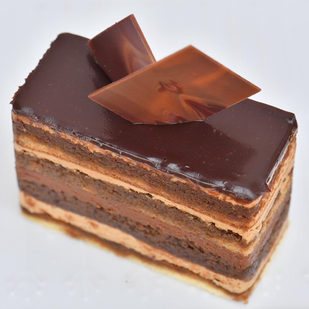 オペラケーキの写真
